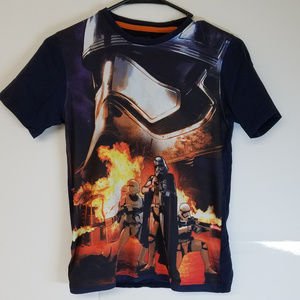 Star Wars Storm Trooper Graphic Shirt By Poppers